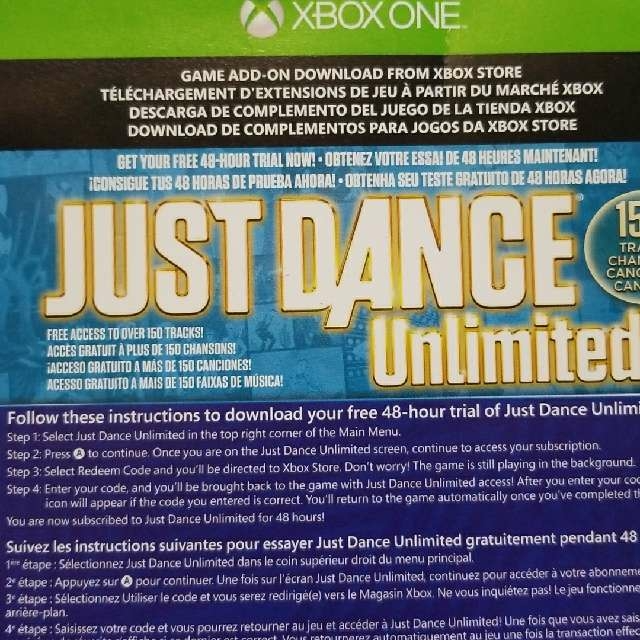 Just Dance Unlimited 48 hour Trial - XBox One Games - Gameflip