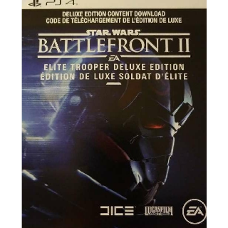 Star Wars Battlefront 2 Deluxe Upgrade