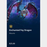 Enchanted Fey Dragon Mount in WoW