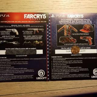Far Cry 5 Deluxe Upgrade + Preorder Bonus