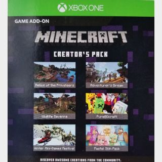 Minecraft Creator's Pack