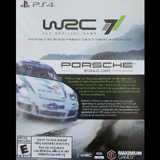 WRC 7 Porsche Bonus Car DLC