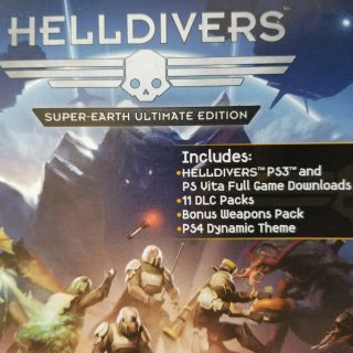 Helldivers Super-Earth Ultimate Edition  (Ps3 / PsVita Full Game Download)