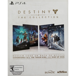 Destiny The Collection DLC