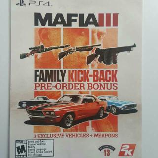 Mafia 3 Preorder Bonus
