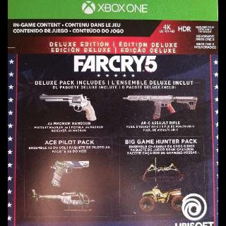 Far Cry 5 Deluxe Edition Upgrade + Preorder Bonus