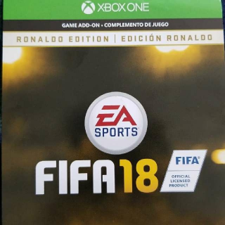 FIFA 18 Ronaldo Edition Upgrade