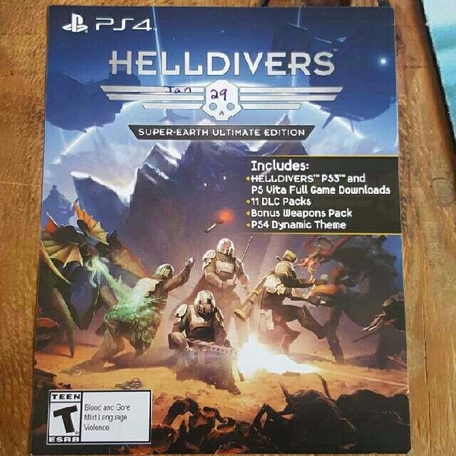 Helldivers Super-Earth Ultimate Edition (Ps3 / PsVita Full