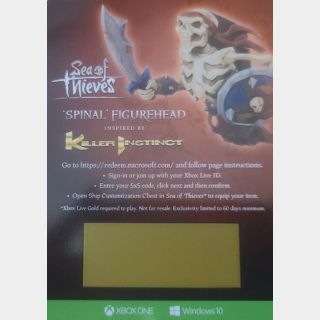 Sea Of Thieves: Spinal Figurehead