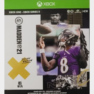 Madden 21 Deluxe Edition DLC