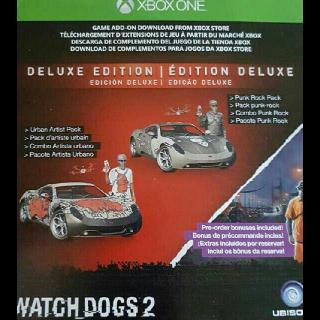 Watch Dogs 2 Deluxe Edition DLC + Preorder Bonus