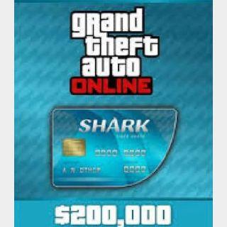 EU - Grand Theft Auto Online $200,000 Code