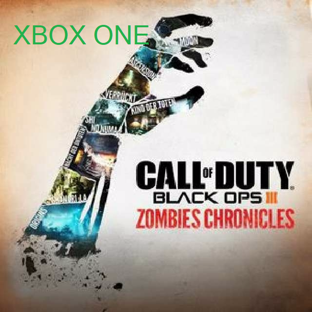 Call of Duty Black Ops 3 Zombies Chronicles DLC - XBox One Games ...