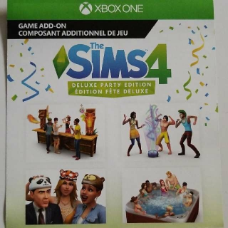 The Sims 4 Deluxe Party Edition Content + Preorder Bonus