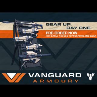 Destiny: Vanguard Armory Pre-order Bonus