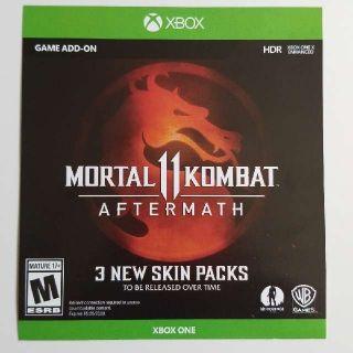 Mortal Kombat Aftermath Skin Packs