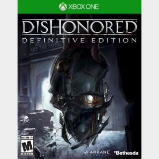 Dishonored Definitive Edition - Xbox One / Series XS