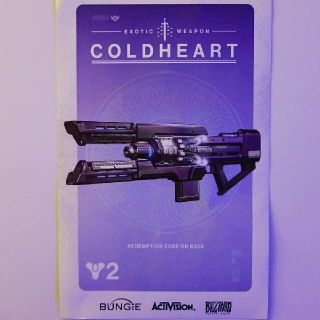 Coldheart Exotic Weapon For Destiny 2