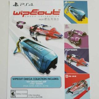 Wipeout Omega Collection Preorder Bonus