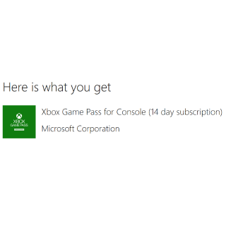14 Days of Xbox Game Pass