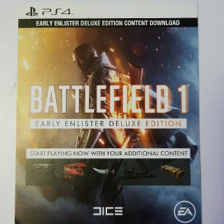 Battlefield 1 Early Enlister Deluxe Edition DLC