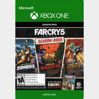 Far Cry 5 Season Pass + Far Cry 3 Classic Edition