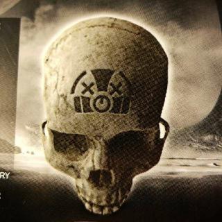 Halo Combat Evolved Anniversary Grunt Funeral Skull DLC