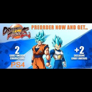 Dragonball FighterZ Preorder Bonus