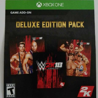 W2K18 Deluxe Edition Pack Upgrade