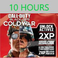 10 Hours Double XP Tokens in Call of Duty Cold War