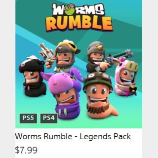 Worms Rumble - Legends Pack DLC