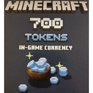 700 Minecraft Tokens