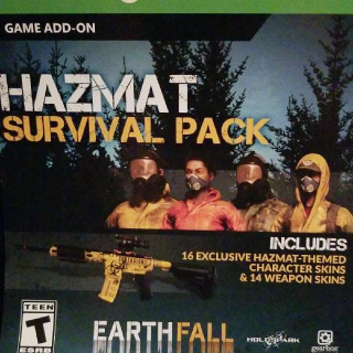 Earthfall Hazmat Survival Pack