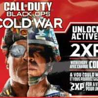 1 Hour of double XP in Call of Duty Cold War