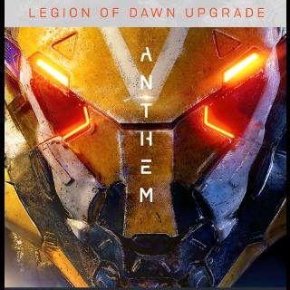 Anthem: Legion of Dawn Edition Upgrade