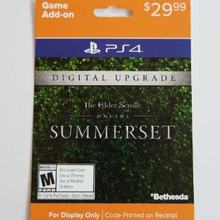 The Elder Scrolls Online Summerset Expansion