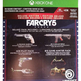 Far Cry 5 Deluxe Edition Upgrade + Preorder Bonus