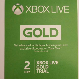2 Day XBOX LIVE Trial