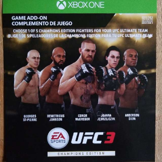 UFC 3 Champions Edition Upgrade