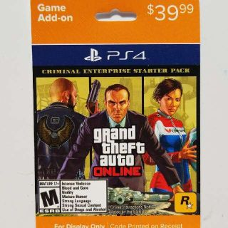 Grand Theft Auto Online Criminal Enterprise Starter Pack