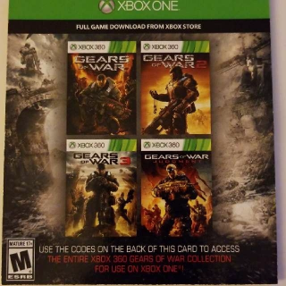 Gears Of War Collection x5