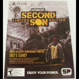 inFAMOUS Second Son Preorder Bonus