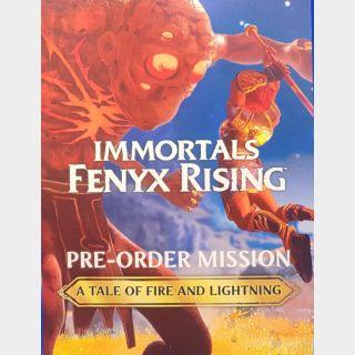 Immortals Fenyx Rising Preorder Bonus