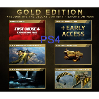 Just Cause 4 Gold Edition Upgrade + Preorder Bonus