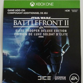 Star Wars Battlefront 2 Deluxe Edition Upgrade