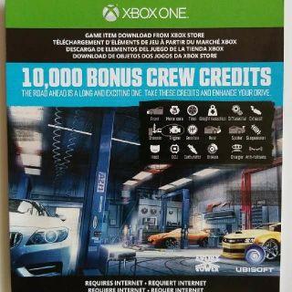 The Crew 10,000 Bonus Credits DLC
