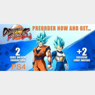 Dragonball FighterZ Preorder Bonus