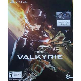 Eve Valkyrie Founder's Pack DLC + Avatar