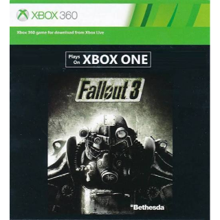 Fallout 3 (Xbox One / Xbox 360)