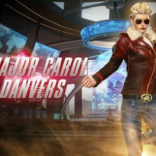 Major Carol Danvers Costume in Marvel Vs Capcom Infinite
